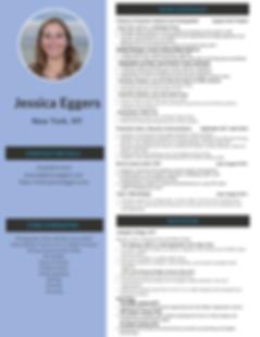 Jessica Eggers Resume 2020