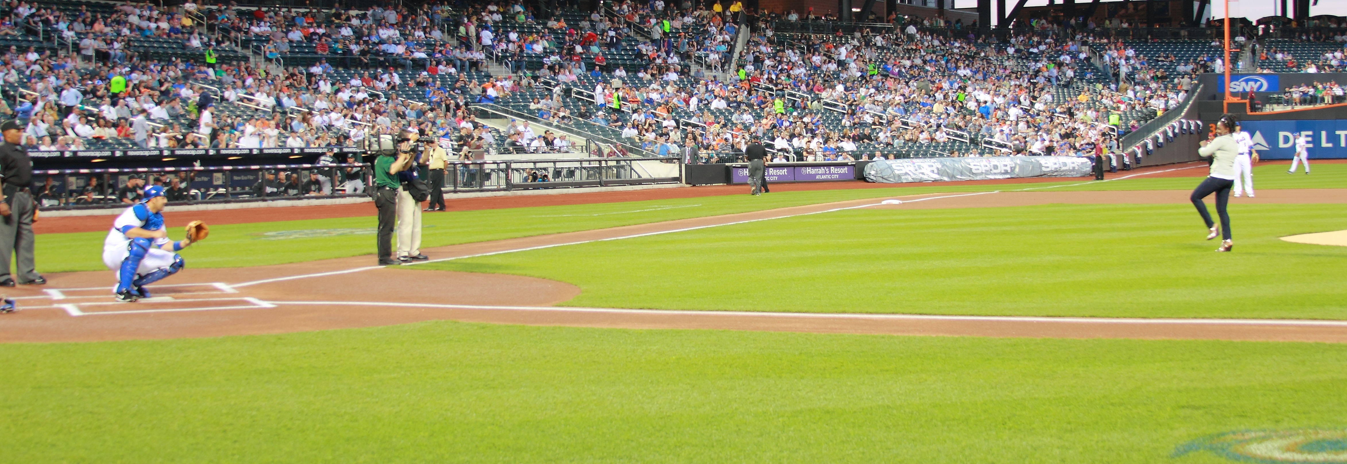 New York Mets First Pitch