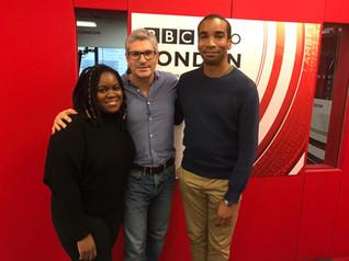 Live BBC Radio London broadcast with Zara McFarlane
