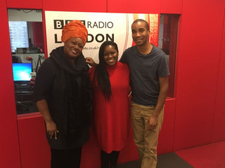BBC radio London Inspirit broadcast with Zara McFarlane
