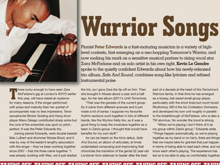 Jazzwise article - Safe and Sound preview