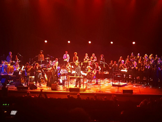 'Sensational Nu Civilisation Orchestra' performance of Joni Mitchell's 'Hejira'