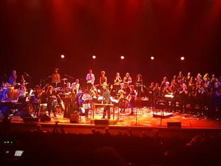 'Sensational Nu Civilisation Orchestra' performance of Joni Mitchell's 'Hejira'