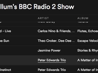 Added to Jamie Cullum's BBC Radio 2 show Spotify playlist