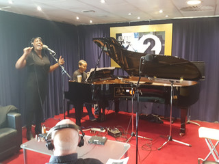 On Ken Bruce's BBC Radio 2 show with Mica Paris celebrating Ella Fitzgerald at 100