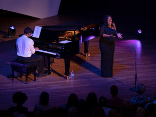 Duo performance at Luxembourg's Philharmonie Concert Hall 21 March 2019
