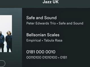 Included on Jazz UK spotify playlist