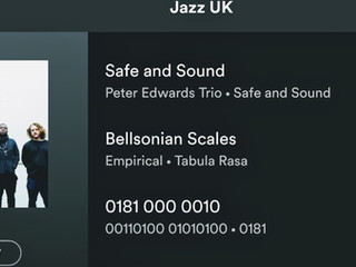 Included on Jazz UK spotify playlist