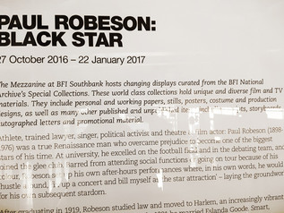 Paul Robeson Exhibition at BFI Southbank