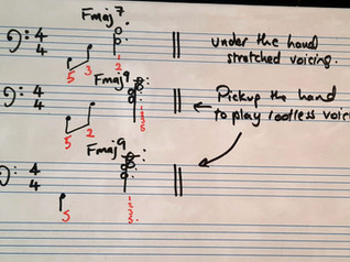 A tip for using the left hand in piano arrangements