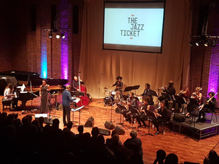 Premiere of commissioned work ' A Journey with the Giants of Jazz'