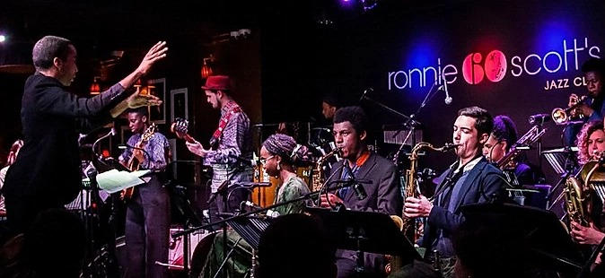 Directing Nu Civilisation Orchestra at Ronnie Scott's