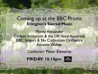 Sacred Concert Prom - BBC Four broadcast