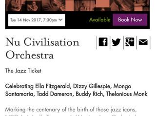Brighton - London - Hull shows coming up in November