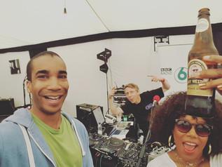 6music Broadcast with China Moses at Cheltenham Jazz Festival