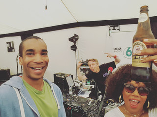 6music Broadcast with China Moses at Cheltenham Jazz Festival