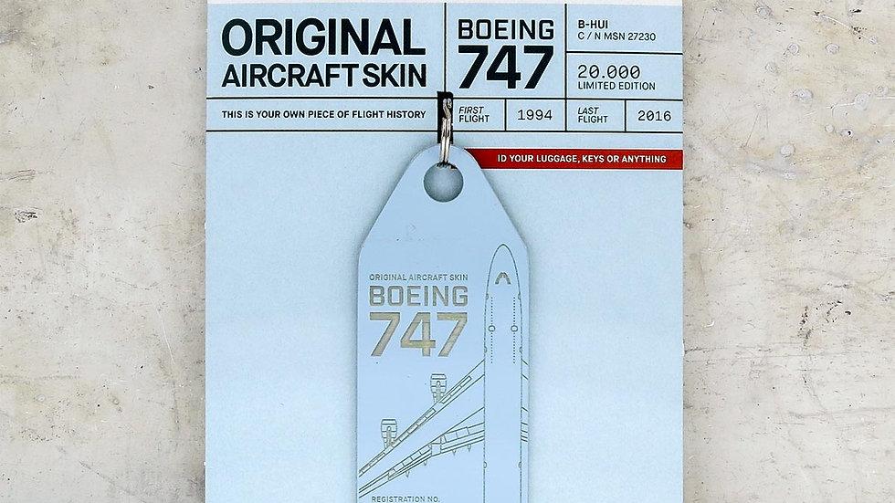 Boeing 747 – B-HUI (lightblue)