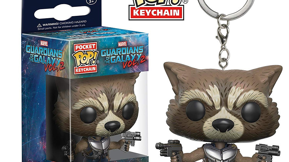 Rocket Raccoon - Pop! Keychain
