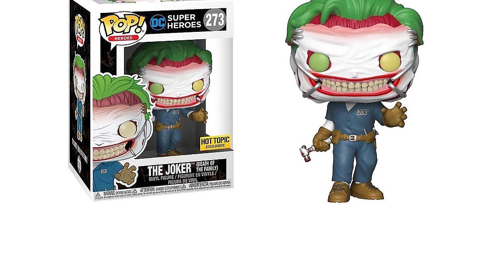 DC SUPER HEROES FUNKO POP! THE JOKER (DEATH OF THE FAMILY) #273