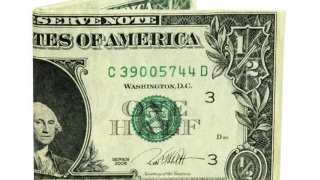 Half Dollar Wallet