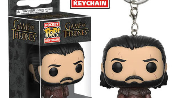 Jon Snow - Pop! Keychain