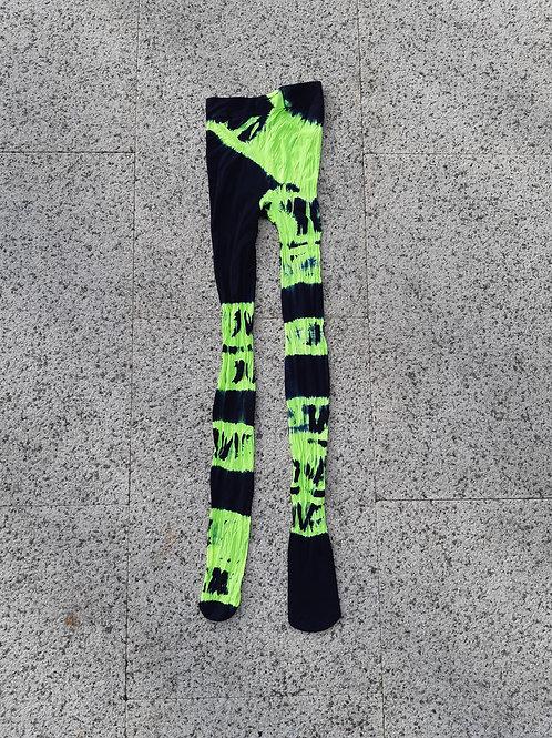 neon lime black