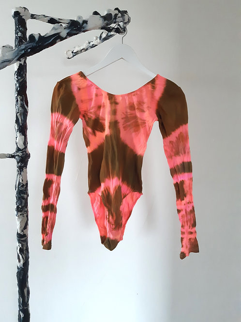 neon coral brown, S