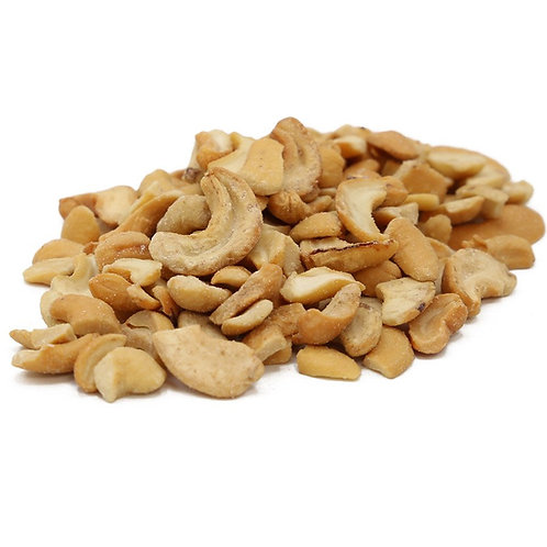 Roasted Salted Cashew Pieces- 2 scoops