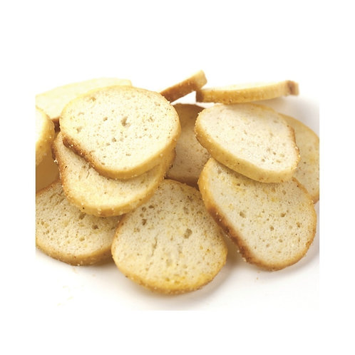 Garlic Bagel Chips 2 Scoops