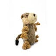 Meerkat toy with rope