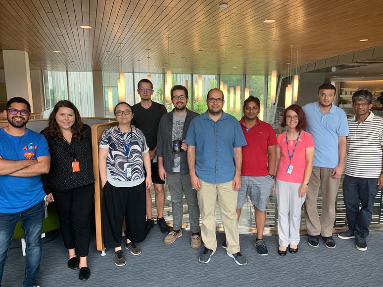 Group with CS team