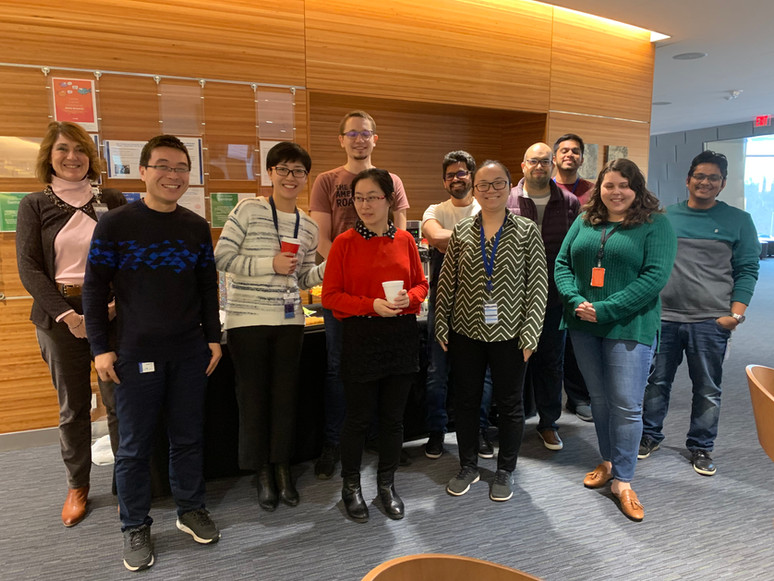 Farewell party for Xiaowen