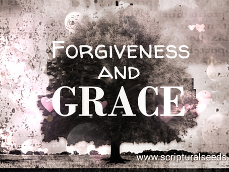 Grace vs Forgiveness...does it really matter?