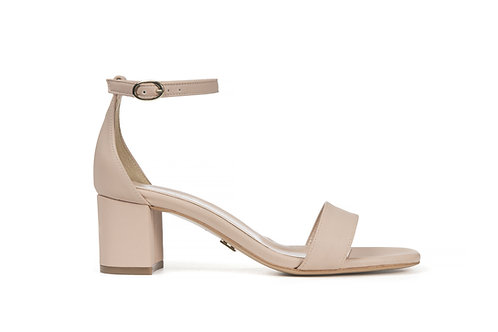 PARD Block Heel Sandal Apple Leather 5cm
