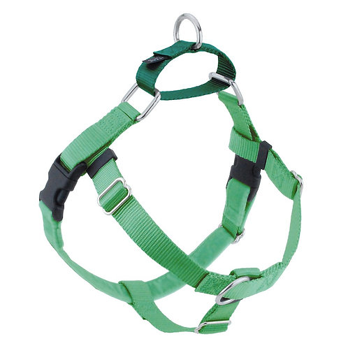 FREEDOM No-Pull Harness&Leash-NeonGreen/KellyGreen