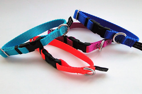 Keystone BUCKLE Nylon Collar - X-SMALL & SMALL