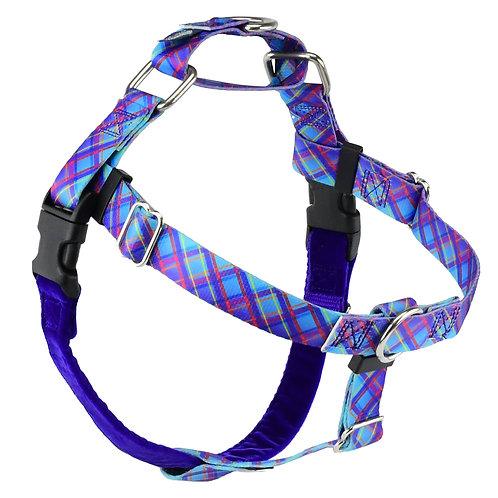 FREEDOM No-Pull Dog Harness - Twilight Glow Plaid – EarthStyle