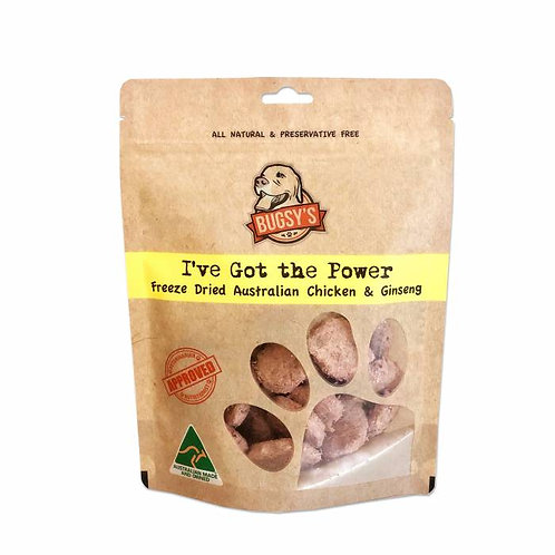 BUGSY'S I've Got The Power (Freeze Dried Chicken & Ginseng)