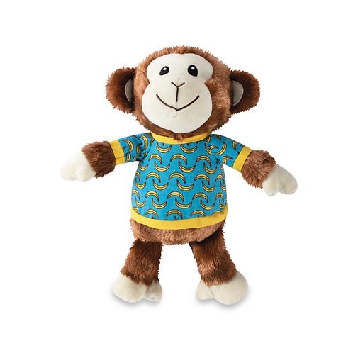 BANANAS THE MONKEY - Squeaky Plush Toy