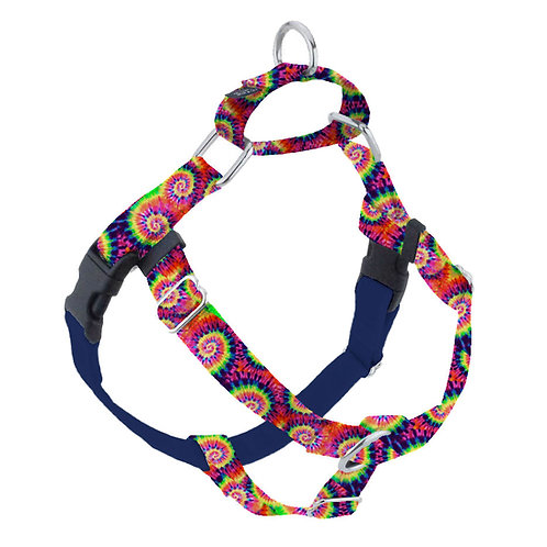 Freedom No-Pull Dog Harness & Leash  – Classic Tie Dye - EarthStyle