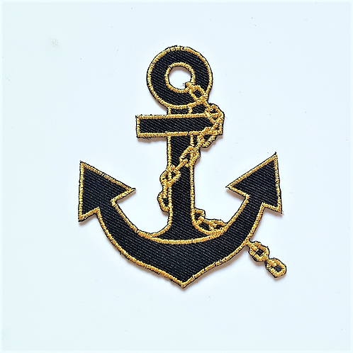 Iron-On Badges -Anchors