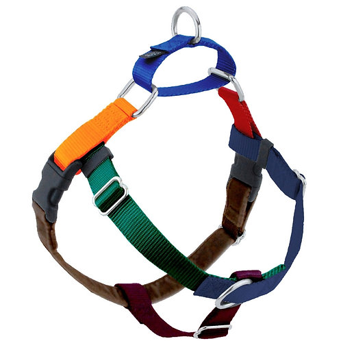 FREEDOM No-Pull Harness and Leash - Jellybean Spice