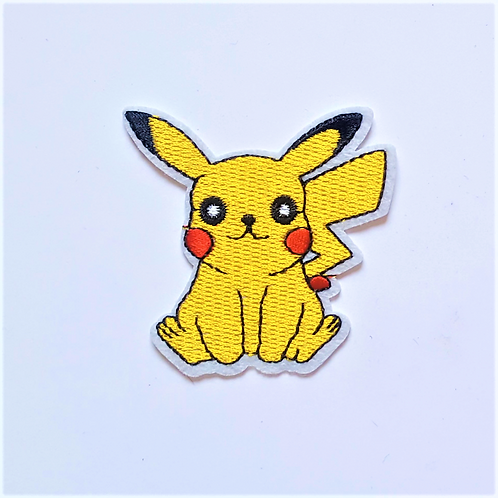 Iron-On Badges - Pikachu