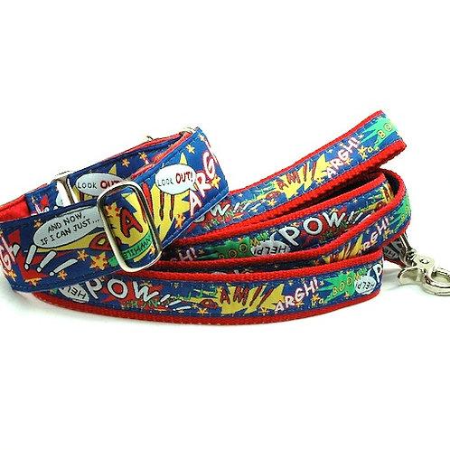 POW! - Satin Lined Buckle Collar