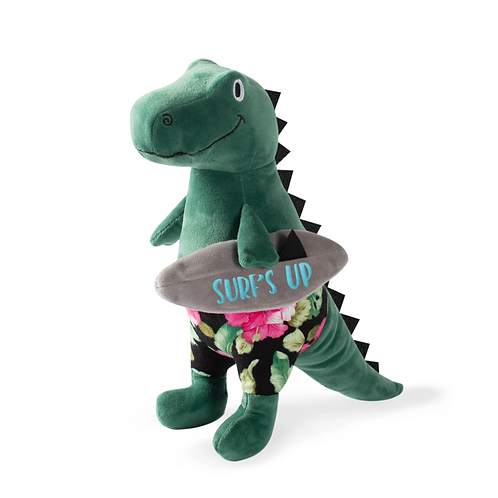 SURFER BRO REX - Dog Squeaky Plush Toy