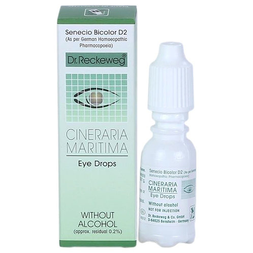 Dr Reckeweg Cineraria Maritima Eye Drops
