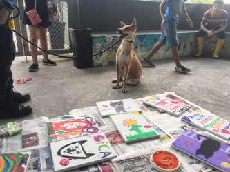 SPCA Singapore and Loyal.D use art to educate children