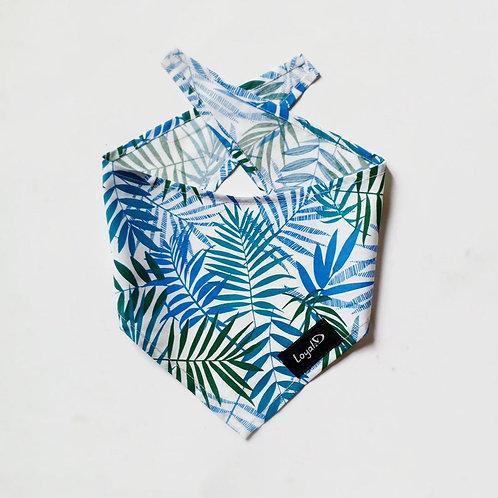 Blue Palm Bandana