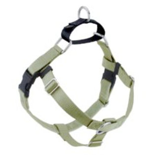 FREEDOM No-Pull Harness & Leash - Tan / Black