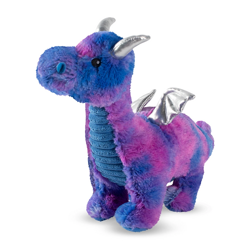 NORBERT THE BLUE DRAGON - Squeaky Plush Toy